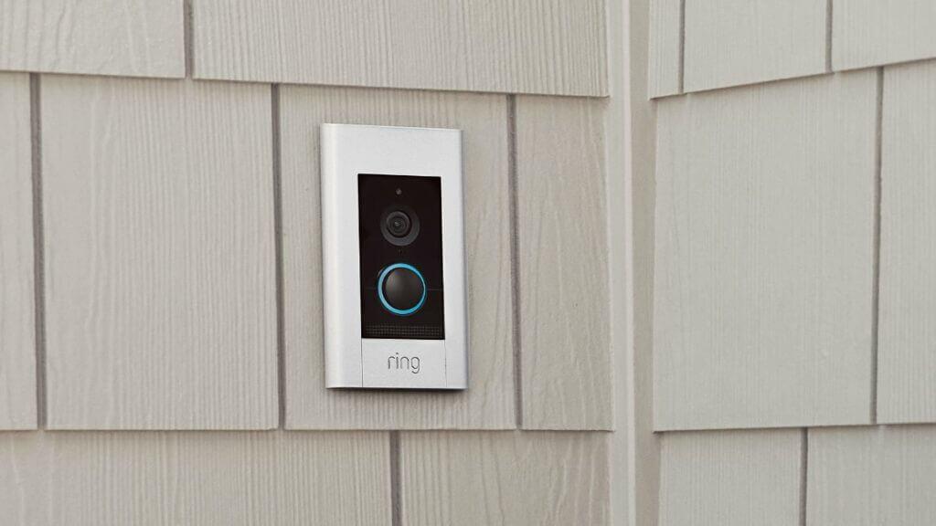 Ring video doorbell elite aanbieding