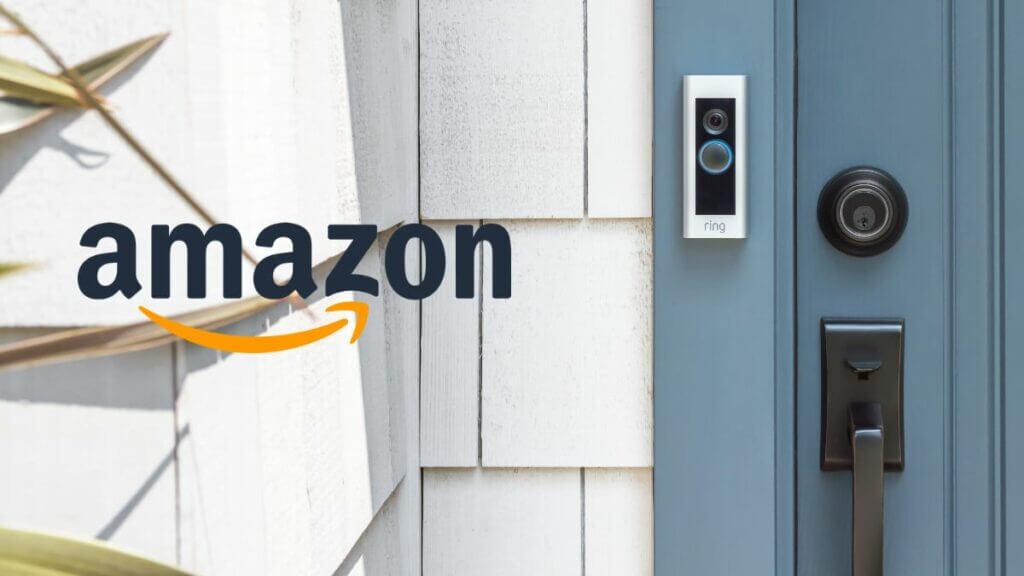 Ring deurbel korting bij Amazon