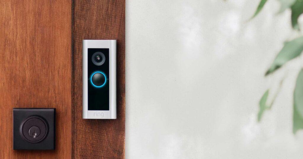 Ring video deurbel Pro 2 aanbieding